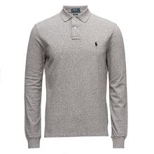 Polo Ralph Lauren Long Sleeve Comfort Fit Polo Shirt White