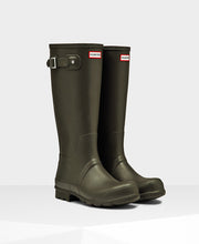 Hunter Original Tall Wellington Boots Dark Olive