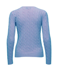 Polo Ralph Lauren Kimberley Long Sleeve Sweater Aqua Melange