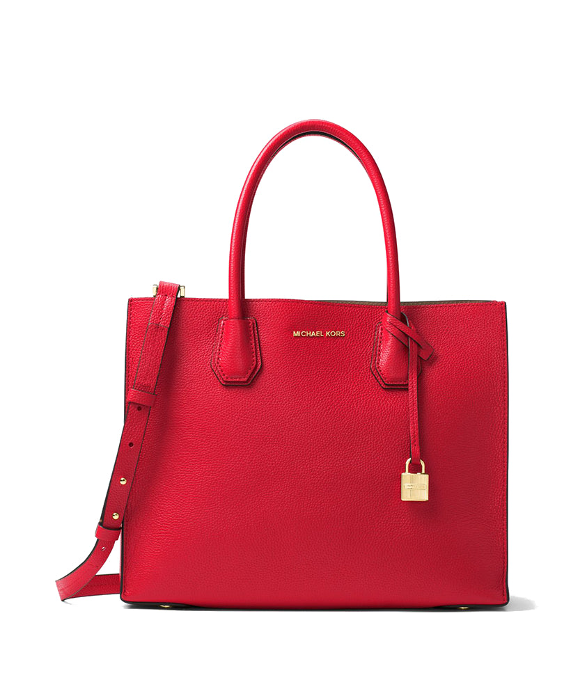 2d9a354521 Michael Kors Mercer Large Leather Tote Bright Red – Maison Lorenz Bach