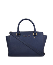 Michael Kors Selma Large Saffiano Leather Satchel