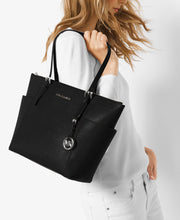 Michael Kors Jet Set Top Zip Saffiano Leather Tote