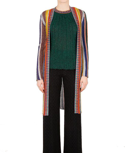 Missoni Long Lamé Cardigan