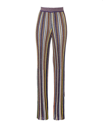 Missoni Lamé Wide-Leg Trousers