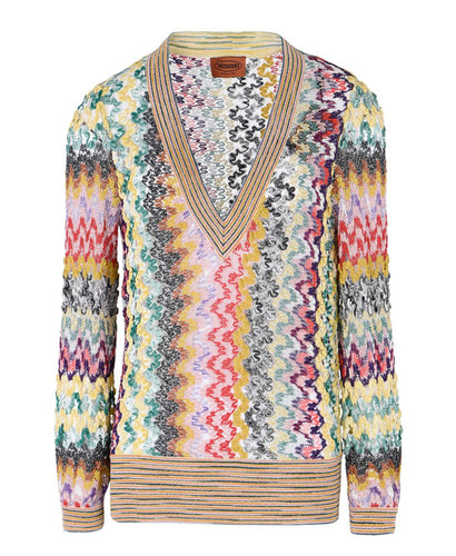 Missoni V-Neck Knitted Jumper