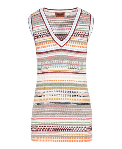 Missoni Stripe-Knit Vest