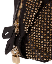 Philipp Plein Santa Ana Handle Bag Bag Black/Light Gold