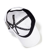 Philipp Plein 3D One Baseball Cap White/Nickel