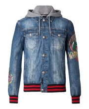 Philipp Plein Fallow Denim Jacket Blue