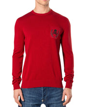Philipp Plein Not Pullover Red Blood