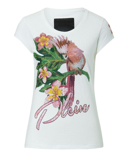Philipp Plein Ceramic T-shirt White