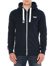Superdry Orange Label Ziphood Eclipse Navy