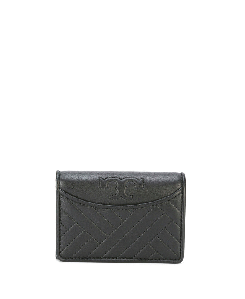 Tory Burch Alexa Zip Continental Wallet Black