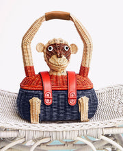 Tory Burch Monkey Satchel Natural