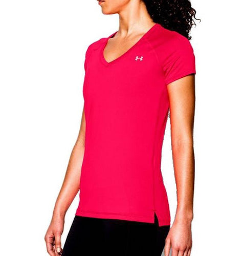 Under Armour HeatGear Armour Short Sleeve Red