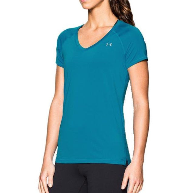 Under Armour HeatGear Armour Short Sleeve Teal