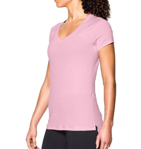 Under Armour HeatGear Armour Short Sleeve Pink