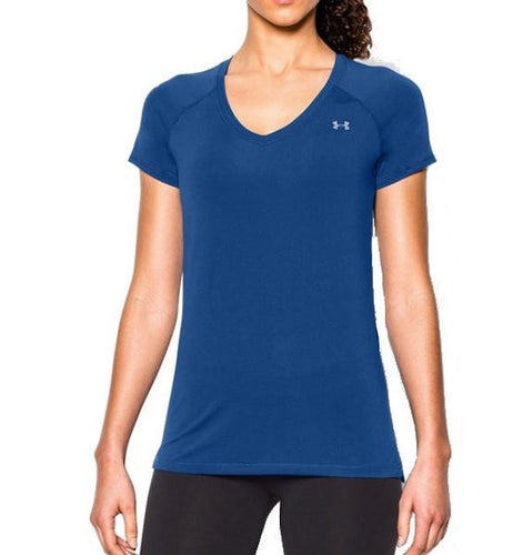 Under Armour HeatGear Armour Short Sleeve Blue