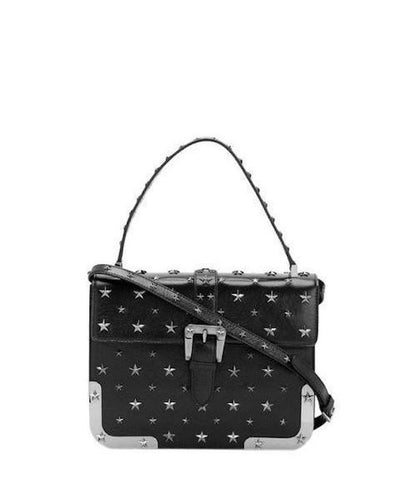 Red Valentino Star Studded Bag Black