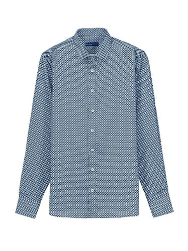 Etro Optical Shirt Blue