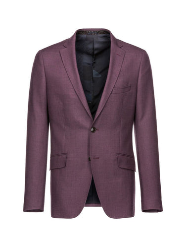 Etro Bordeaux Wool Jacket