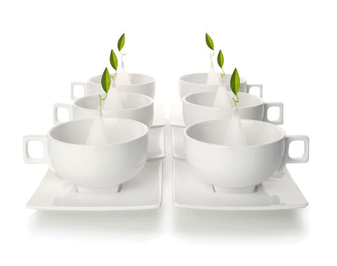Solstice Teacups Set Of Six