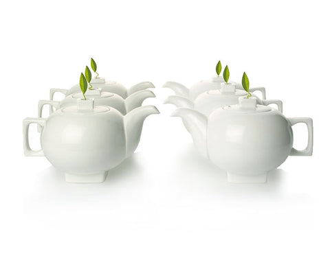 Solstice Teapots Set Of Six