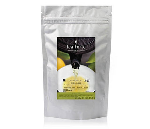 Earl Grey - Organic - 1lb Loose Tea Sealable Pouch - 16oz - 454g