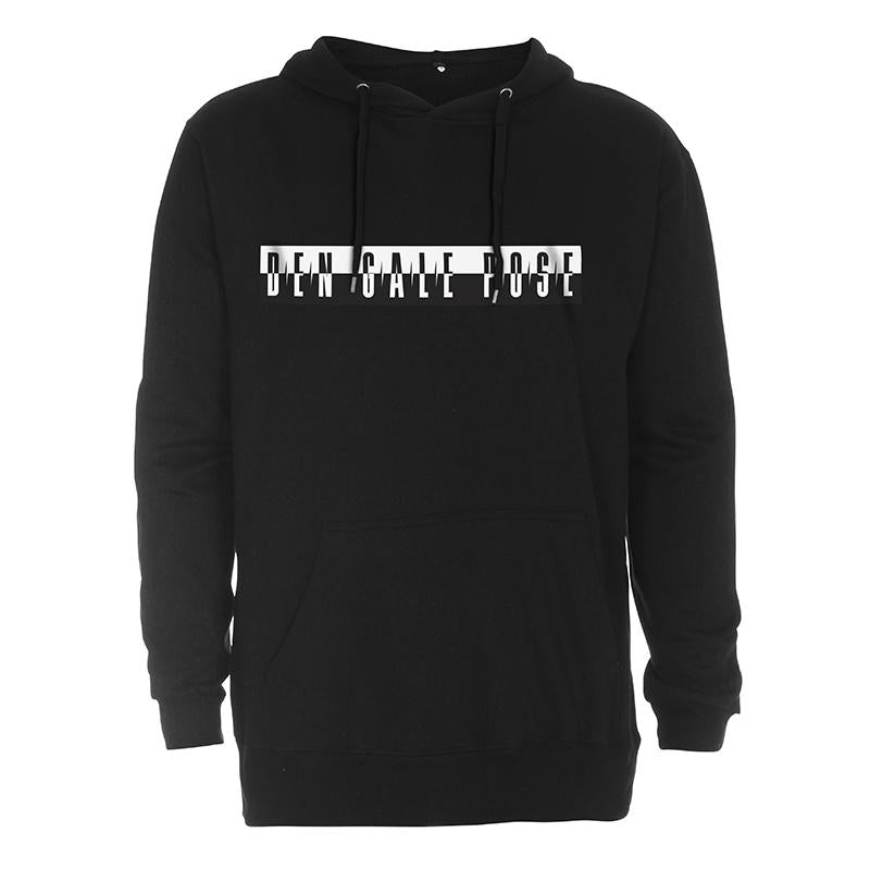 Sort Ice Cube Hoodie Den Gale Pose officielt merchandise
