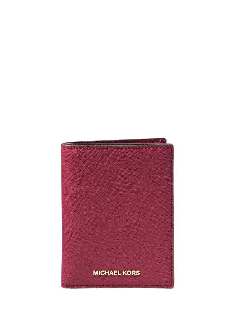 54d8a42a3199 Jet Set Travel Saffiano Leather Passport Wallet - Mulberry ...