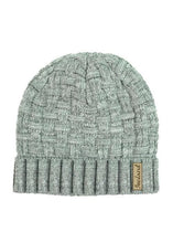 Load image into Gallery viewer, Glenrua Knitted Beanie Hats Glenrua Knitted Beanie Hats Cara Craft Grey