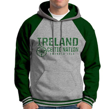 Load image into Gallery viewer, IRELAND CELTIC NATIONS Men Hoodies Cara Craft XS BOTTLE GREEN