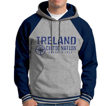 Load image into Gallery viewer, IRELAND CELTIC NATIONS Men Hoodies Cara Craft XS NAVY
