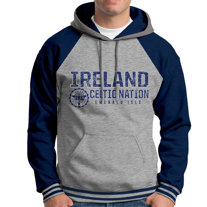 IRELAND CELTIC NATIONS Men Hoodies Cara Craft XS NAVY