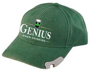PINT GENIUS CAPS/HATS Cara Craft BOTTLE GREEN