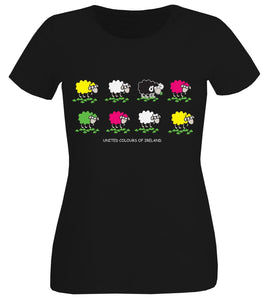 UNITED COLOURS OF IRELAND Ladies T-Shirts Cara Craft