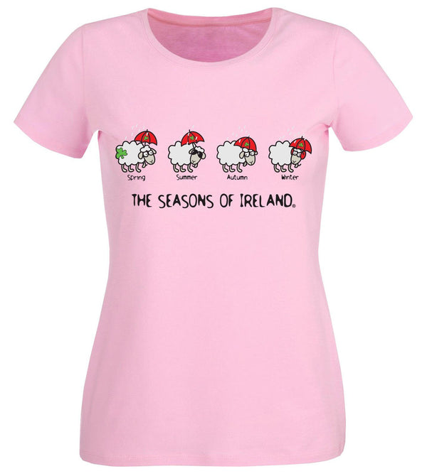 FOUR SEASONS LINE Ladies T-Shirts Cara Craft