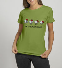 Load image into Gallery viewer, FOUR SEASONS LINE Ladies T-Shirts Cara Craft S KIWI