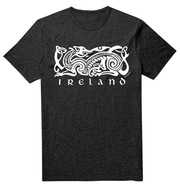 IRELAND CELTIC DOG V2 Mens T-Shirts Cara Craft