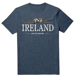 IRELAND CELTIC NATION V2 Mens T-Shirts Cara Craft S NAVY