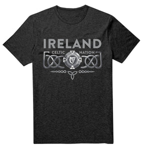 IRELAND 3D CELTIC PROVINCES Mens T-Shirts Cara Craft