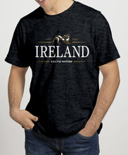 Load image into Gallery viewer, IRELAND CELTIC NATION V2 Mens T-Shirts Cara Craft S BLACK