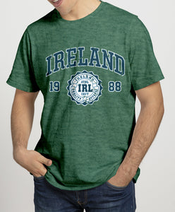 IRELAND APPAREL 88 (2) Mens T-Shirts Cara Craft S BOTTLE GREEN