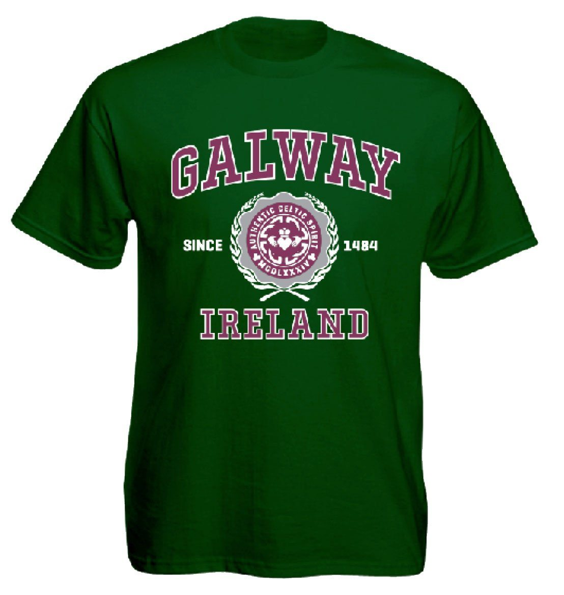 GALWAY CELTIC SPIRIT, Mens T-Shirts - seasonsofireland