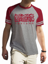 Load image into Gallery viewer, IRELAND CELTIC DOG V2 Mens T-Shirts Cara Craft S BURGUNDY