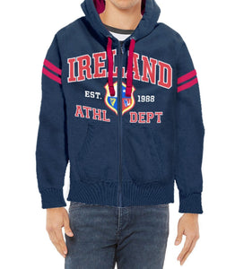 IRELAND ATHLETIC DEPARTMENT Men Hoodies Cara Craft S NAVY