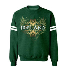 Load image into Gallery viewer, IRELAND CELTIC WINGS Men Sweat Shirts Cara Craft