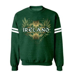 IRELAND CELTIC WINGS Men Sweat Shirts Cara Craft