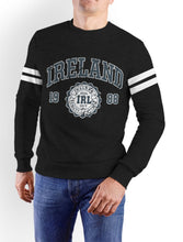 Load image into Gallery viewer, IRELAND APPAREL 88 Men Sweat Shirts Cara Craft XS BLACK