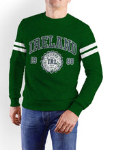 Load image into Gallery viewer, IRELAND APPAREL 88 Men Sweat Shirts Cara Craft XS Bottle Green